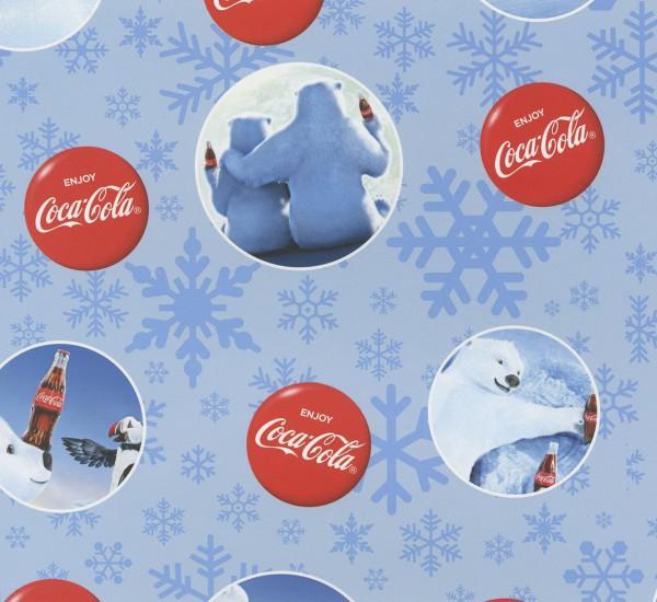 Coca-Cola Polar Bear in Circles