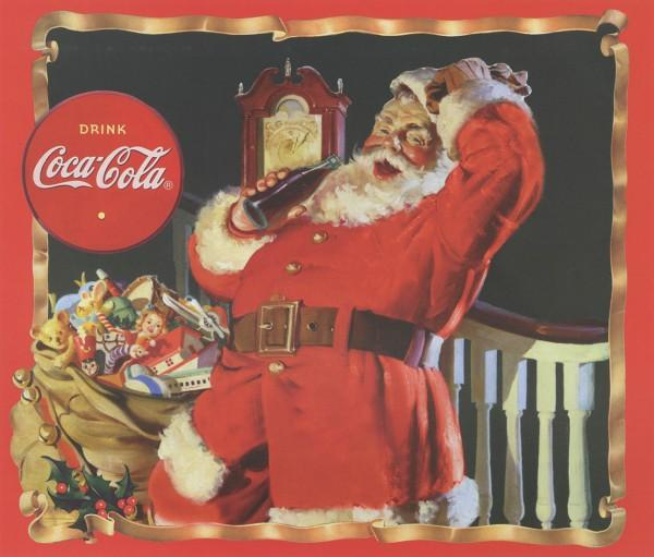 Multi Coca-Cola Santa Panel 36x44in