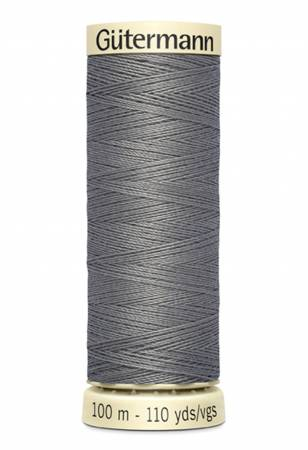 Col 113 - Sew-all Polyester All Purpose Thread 100m/109yds Antique Grey