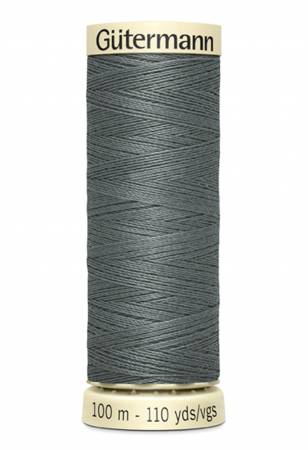 Col 115 - Sew-all Polyester All Purpose Thread 100m/109yds Rail Grey