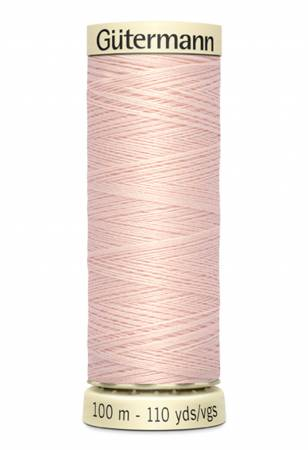 Sew-all Polyester All Purpose Thread 100m/109yds Salmon Buff