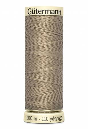 Sew-all Polyester All Purpose Thread 100m/109yds Beige