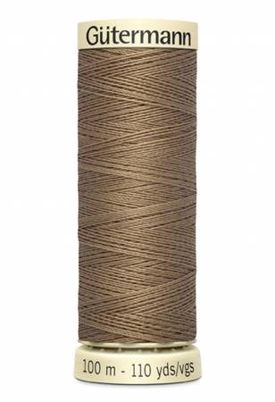 Sew-all Polyester All Purpose Thread 100m/109yds Light Brown