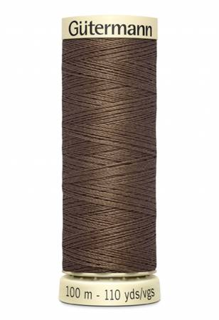 Gutermann Polyester Thread 110yd - 100-551 Cocoa