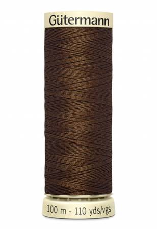 Sew-all Polyester All Purpose Thread 100m/109yds Boot Brown