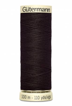 Sew-all Polyester All Purpose Thread 100m/109yds Brown