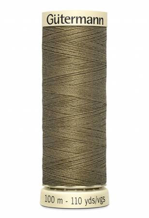 Sew-all Polyester All Purpose Thread 100m/109yds Brown Olive