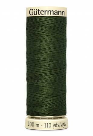 Gutermann Polyester Thread 110yd - 100-782 Black Olive
