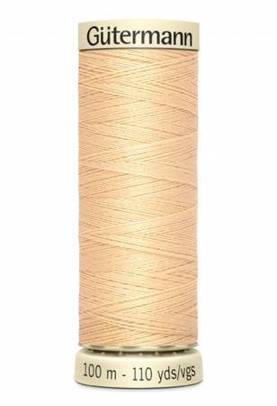 Sew-all Polyester All Purpose Thread 100m/109yds Capucine Buff