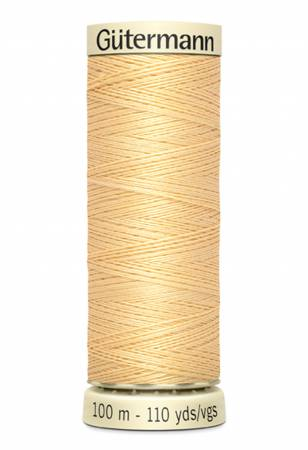 Sew-all Polyester All Purpose Thread 100m/109yds Maize Yellow