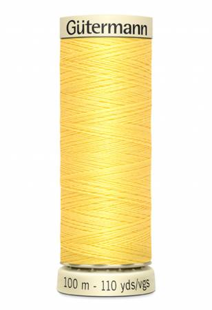 Sew-all Polyester All Purpose Thread 100m/109yds Lemon Peel