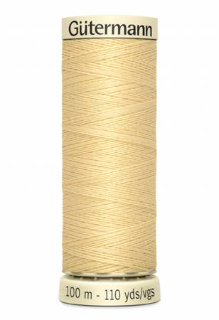 Sew-all Polyester All Purpose Thread - Canary - 100m