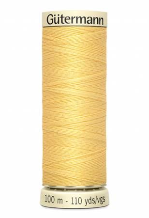 Sew-all Polyester All Purpose Thread 100m/109yds Primrose