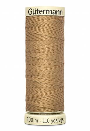 Sew-all Polyester All Purpose Thread 100m/109yds Burlywood