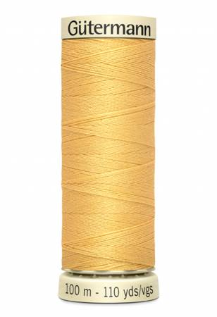 Sew-all Polyester All Purpose Thread 100m/109yds Dusty Gold