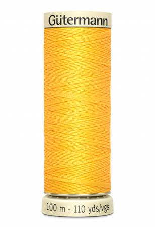 Sew-all Polyester All Purpose Thread 100m/109yds Saffron