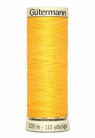 Sew-all Polyester All Purpose Thread - Saffron - 100m