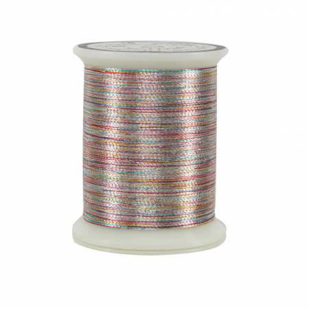 Superior Metallics Thread 500yds Variegated Silver