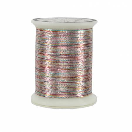 Superior Metallics Thread 500yds Variegated Silver