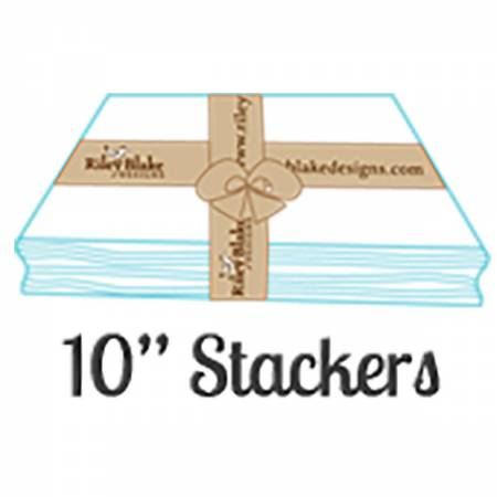 Confetti Tomato 10in Stackers 42 Pcs, 3 bundles per pack