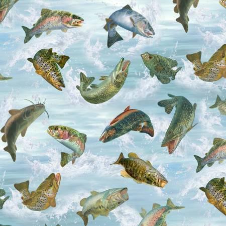 First Catch Fish Toss Blue