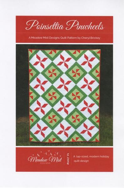 Poinsettia Pinwheels Pattern