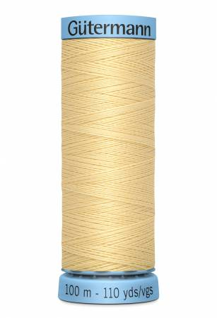 Col.325 Silk Thread 100m/109yds Light Yellow