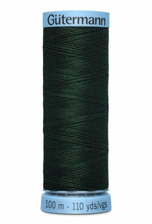 Col.472 Silk Thread 100m/109yds Dark Green
