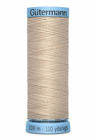 Col.722 Silk Thread 100m/109yds Sand