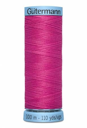 Col.733 Silk Thread 100m/109yds Bright Pink