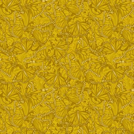 Accent on Sunflowers 10217B-34 Butterfly Fields Gold