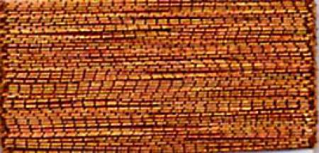 J Metallic Embroidery Thread 40wt 260d 1000yds Copper