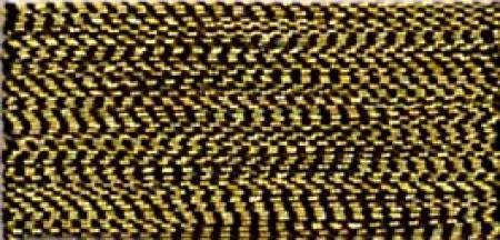 J Metallic Embroidery Thread 40wt 260d 1000yds Antique Gold