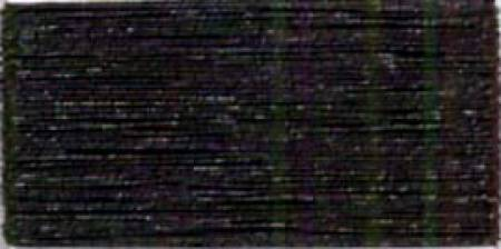 J Metallic Embroidery Thread 40wt 260d 1000yds Black
