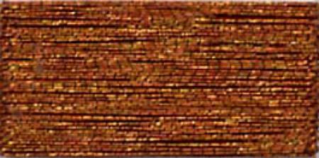 J Metallic Embroidery Thread 40wt 260d 1000yds Brown