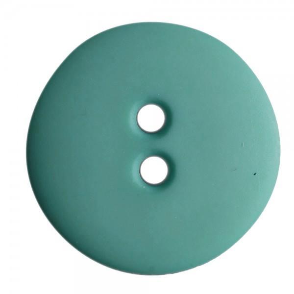 5/8in 2 Hole Button Dark Teal