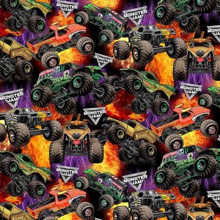 Monster Jam ? Packed Monster Trucks Cotton