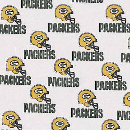 Green Bay Packers Cotton 60White