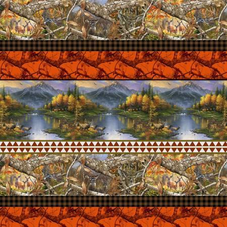 Print Concepts - Real Tree Blaze Edge - Border Shelf Print - 10283-X