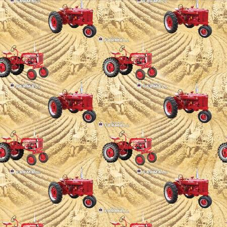 Farmall Country Living-  Wheat Fields Allover