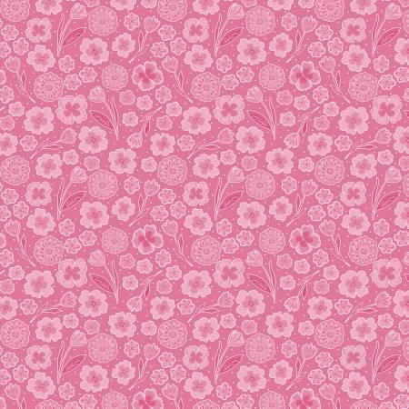 Full Bloom - Pink Mini Blooms Floral