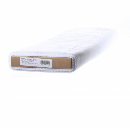 Woven Fusible 22in wide White