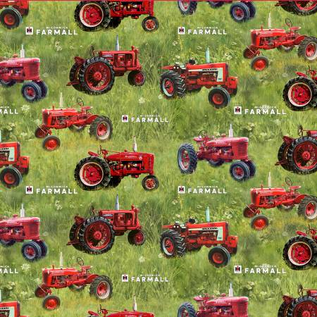Farmall Tossed Tractors