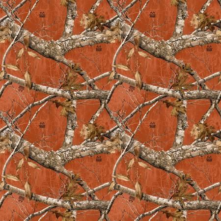 Burnt Orange Realtree Allover Cotton Sykel Enterprises