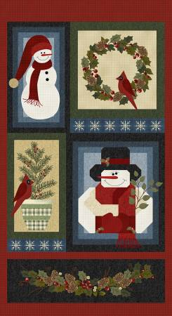 Multi A Very Wooly Winter Panel