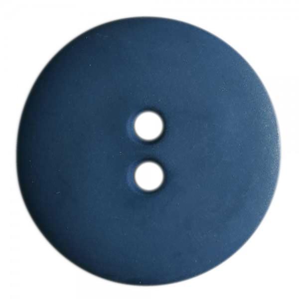 7/8in 2 Hole Button Dark Blue