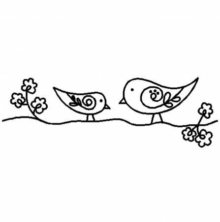 Quilt Stencil Blossoms & Birdies