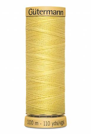 Natural Cotton Thread 100m/109yds Yellow
