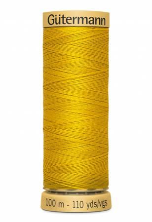 Natural Cotton Thread 100m/109yds Pumpkin