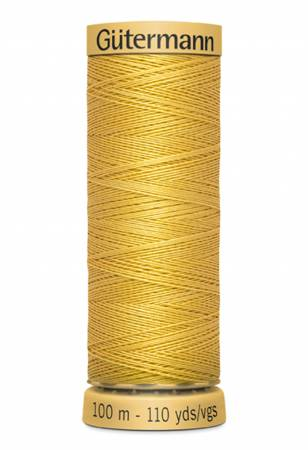 Natural Cotton Thread 110yds - Saffron